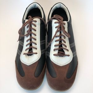 Rockport Tri-color Leather Sneakers